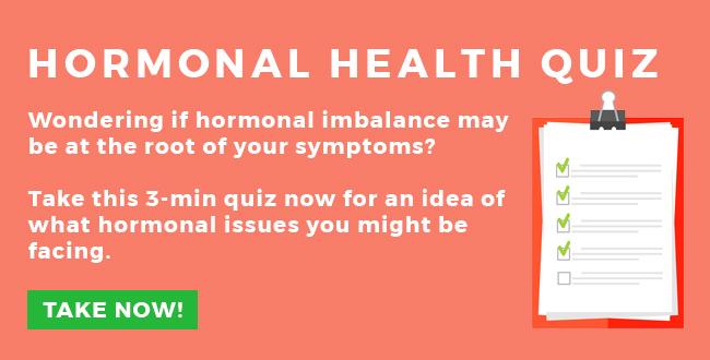 Hormone health quiz cta
